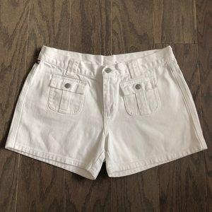 VTG Polo Ralph Lauren White Denim Jean Shorts